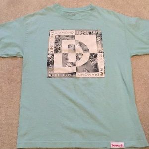 Teal Diamond Supply Co T-shirt